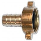 Brass Claw Fittings - Tap Cap & Tail