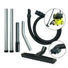 Push & Twist Fit Wet & Dry Dual Floor Tool Vacuum Kit