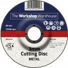 The Workshop Warehouse 3 mm Cutting Disc - Depressed Centre