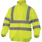 DELTAPLUS '2 in 1' Hi-Vis Bomber Jacket/Body Warmer