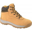 DELTAPLUS Nubuck Leather Hiker Safety Boots - Sand