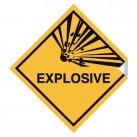 Explosive 100 x 100mm Sticker
