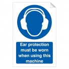 Ear Protection Must … Using Machine 240x360 Stick