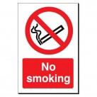 No Smoking 240 x 360mm Sign