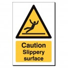 Caution Slippery Surface 240 x 360mm Sign