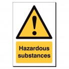 Hazardous Substances 240 x 360mm Sign