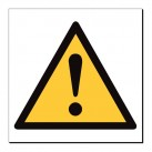 ! (Warning Triangle) 360 x 350mm Sign