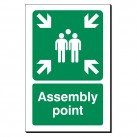 Assembly Point 240 x 360mm Sign