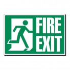 Fire Exit 240 x 360mm Sign