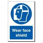 Wear Face Shield 240 x 360mm Sign