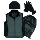 DELTAPLUS Bodywarmer Pack - Black/Grey